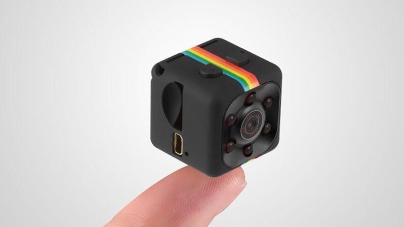 La mini-caméra espionne : est-ce vraiment rassurante ?