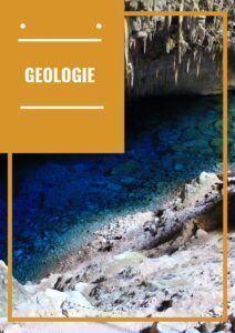 Livre sur la géologie